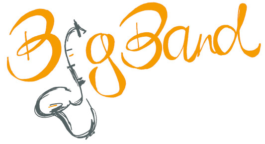Big Band Logo Orange